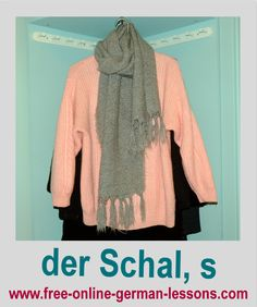 Learn how to say scarf in German.