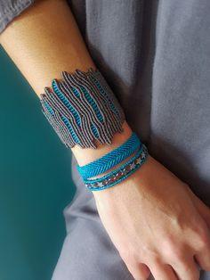 Macrame Thread, Micro Macrame, Macrame Jewelry, Macrame Bracelets, Collar Macrame, Bracelet Packaging, Coral Design, Jewelry Illustration, Bracelet Crafts
