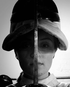 Megan Patterson one of All-American Fencing Academy's fencers senior at Jack Britt High School. #weallplayswords #wedareyounottoloveit #downtownfayettevillenc http://aafa.me/2d1SaUw