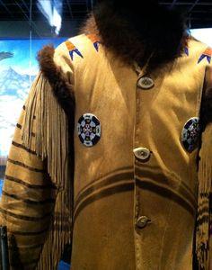 "Beaded fringed leather jacket. ""Spirit of the Old West"" exhibit. Blackhawk Museum. Danville, CA Zippertravel.com Digital Edition"