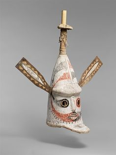 Mask, late 19th–early 20th century, Papua New Guinea