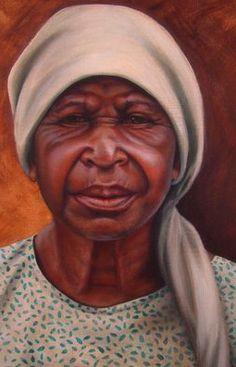 ☆ New Guinea Woman -Detail- Artist Christina Ramos ☆ Christina Ramos, African American Art, Black Is Beautiful, Black Art, Illustration Art, Cartoons, Faces, Inspired, Detail