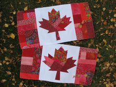 66 best ideas about Canadian Flag Flag Quilt, Quilt Blocks, Small Quilts, Mini Quilts, Paper Piecing, Pattern Blocks, Quilt Patterns, Fall Patterns, Quilting Projects