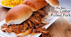 Crockpot Pulled Pork can be just as good as the smoked version!