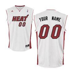 63b8f453104c adidas Miami Heat Custom Replica Home Jersey