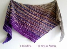 Riscadinho is about as simple a a wrap/scarf can get! If you can knit, you can DO this! And the pattern is FREE on Ravelry!