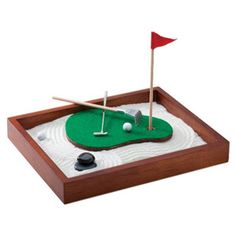 Executive Sandbox - Zen golf garden for the office!