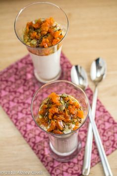 Persian Pudding with apricots, honey, pistachios cardamom and rosewater