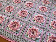 Cuppa Crochet: Moon Blossom Blanket