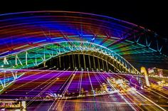 The lights are bright at Vivid 2016. #vivid #lights #pretty #sydneyharbourbridge #colour #abstract #slowshutter #photowalk #workshops #learnphotography #igers #beautifuldestinations #photooftheday #ilovephotography #joemorenophotographer #ilovemyjob #canon #nikon #olympus #pentax #lumix #sony #leica #casio  #nocameratoohard  SEE THE BIG PICTURE @joemorenophotos by smarterdigital http://ift.tt/1NRMbNv