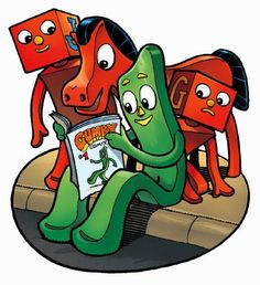 Gumby and friends