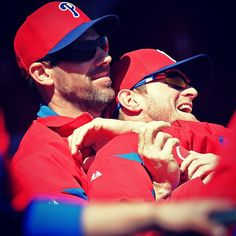 Is this Monday Night Raw? Nope, just Cliff Lee putting a classic wrestling move on Kyle Kendrick.