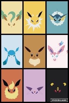 Pokemon Eevee Evolutions, Pokemon Firered, Pokemon Party, Pokemon Memes, Pikachu, Cute Animal Drawings Kawaii, Cute Pokemon Wallpaper, Pokemon Coloring, Kawaii Doodles