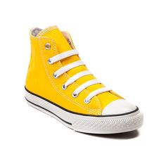 f279eade72f Shop for Youth Converse All Star Hi Sneaker in Lemon Chrome at Journeys  Kidz.
