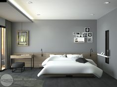 Apartment bedroom design guest houses 67 new ideas Mid Century Modern Master Bedroom, Master Bedroom Design, Modern Bedroom, Bedroom Designs, Bedroom Apartment, Home Bedroom, Bedroom Decor, Bedroom Ideas, Bed Design