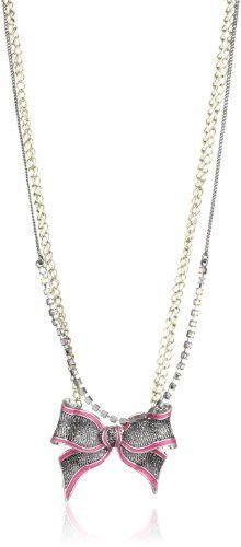 "Betsey Johnson ""Film Noir"" Bow Pendant Necklace Betsey Johnson, http://www.amazon.com/dp/B008TR4EQW/ref=cm_sw_r_pi_dp_qcCPqb0HY44WQ"