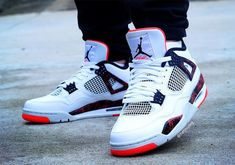 Air Jordan 4 Hot Lava Release Date - Sneaker Bar Detroit Jordan Tenis, Jordan 4, Jordan Shoes For Kids, Air Jordan Shoes, Nike Air Jordans, Jordans Sneakers, Sneaker Bar, Kicks Shoes, Hype Shoes