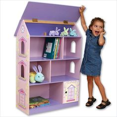 Little Girl Dollhouse Bookcase                                                                                                                                                                                 More