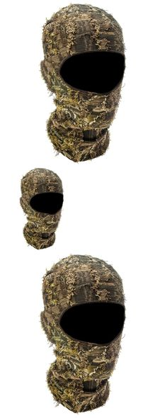 Hats and Headwear 159035: Camo Hunting Face Mask Grass Outdoor Hood Headnet Full Tactical Camouflage Hat -> BUY IT NOW ONLY: $31.95 on eBay!