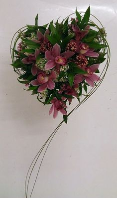Floristry Courses Floristry Training 2019 Academy of Floral Art Floristry Schoo Beautifil heart bouquet by Lenka Natratilova The post Floristry Courses Floristry Training 2019 appeared first on Floral Decor. Ikebana, Flower Centerpieces, Flower Decorations, Tall Centerpiece, Centerpiece Wedding, Wedding Bouquets, Wedding Flowers, Flower Bouquets, Corporate Flowers