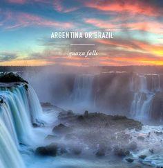 Iguazu Falls, Argentina /