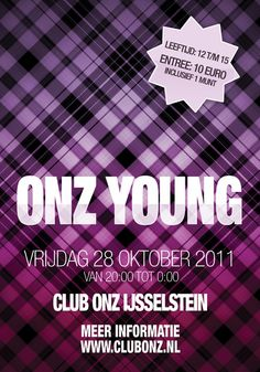 Onz Young, flyer design