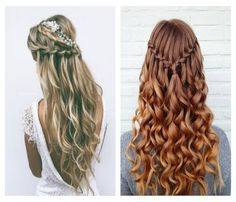 Braided hairstyles make space for creativity. There are so many interesting braiding techniques which can make you feel pretty anytime. 5 Braid, Bar Mitzvah, Dresses For Teens, Braided Hairstyles, Hair Inspiration, Dreadlocks, Long Hair Styles, Chic, Hairstyle Ideas