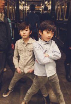 Ea & Eran Teen Boy Hairstyles, Funky Hairstyles, Formal Hairstyles, Korean Boys Ulzzang, Ulzzang Kids, Shin Won Ho Cute, Kids Boys, Cute Boys, Undercut Men
