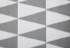 HARLEKIN-matto 80 X 150 cm Harmaa-valkoinen