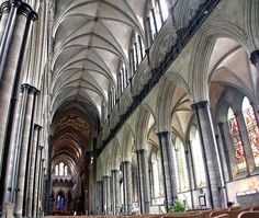 Salisbury Cathedral Photographs and History
