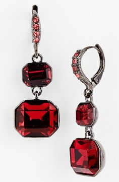 Givenchy Drop Earrings. http://www.LooksHQ.com