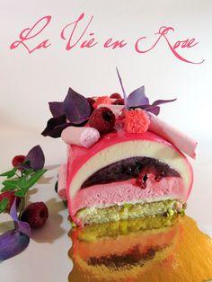 J'en reprendrai bien un bout...: La Vie en Rose - version Bûche, Noël 2015 -