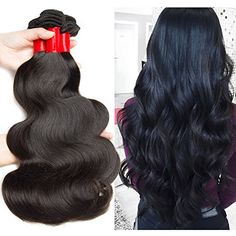 VIPbeauty Unprocessed Brazilian Huamn Hair 3 Bundles of Body wave Virgin Hair Extension 18 20 22 ** Continue to the product at the image link-affiliate link. #BeautySalonEquipment