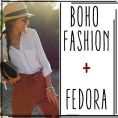 Boho + Fedora