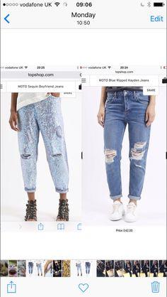 Christmas list jeans