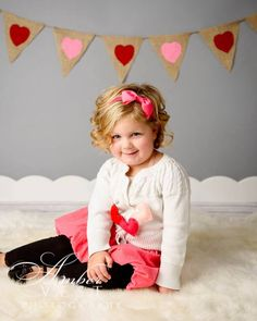 Valentine's pictures, children photography, All Things Ribbon, ambervestphotography.com