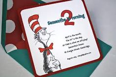 dr seuss 2nd birthday party - Google Search
