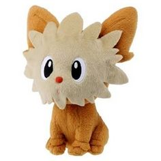 19.99 Awesome Pokemon plush! Lillipup stands at 6-inches tall! Very cute and collectible Pokemon plush! Lillipup is a tan-colored, dog-like Pokemon. It has large eyes and a red nose