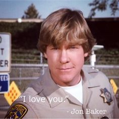 """─ """"CHiPs"""" Season 4-8 . 💝Happy Valentine's Day!💝 . #chipsquotes #CHiPs #jonbaker #larrywilcox #chipsquoteoftheday #happyvalentinesday… Larry Wilcox, Chips Series, 80 Tv Shows, Season 4, Law Enforcement, Cute Guys, Happy Valentines Day, Tv Series, Police"""