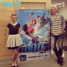 Videos And Photos: Dove Cameron And Luke Benward Cloud 9 Twitter Party January 17
