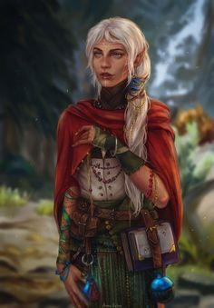 Anime Art Fantasy, Elfen Fantasy, Fantasy Rpg, Medieval Fantasy, Fantasy Artwork, Fantasy Portraits, Dungeons And Dragons Characters, Dnd Characters, Fantasy Characters