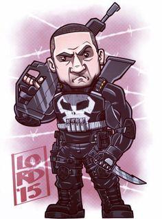 #ThePunisher #chibi #drawing  @oxmariieee