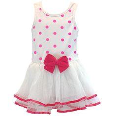 Pink Polk-a-Dot Dress