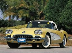 Camaro, Corvette and Other Chevy Features - Super Chevy Chevy, Chevrolet Corvette C1, 1958 Corvette, Pontiac Gto, Retro Cars, Vintage Cars, Antique Cars, Us Cars, Sport Cars