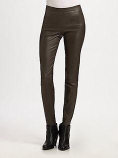 Vince Leather Leggings