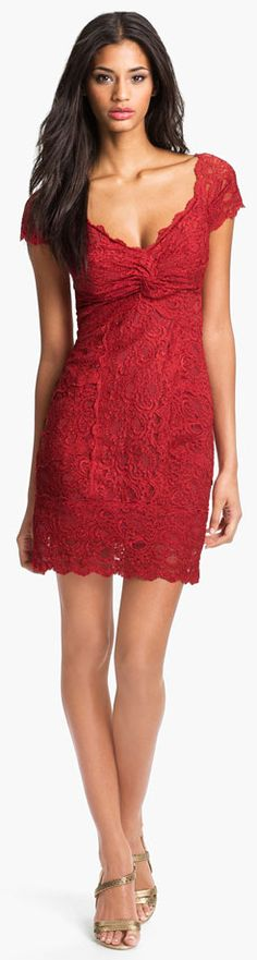 #Nicole Miller Red Dresses #2dayslook #RedDresses #susan257892 #watsonlucy723 www.2dayslook.com