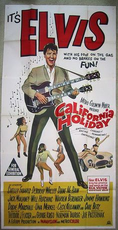 """Elvis in """"Spinout"""" / California Holiday"""