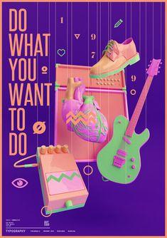Graphic Designer Creates Brilliant 3D Typographic Artwork - DesignTAXI.com