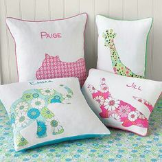 What do you think of this silhouette pillow ideas?