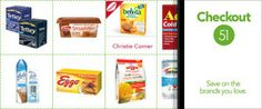 Sneak Peeks!! Checkout51 Hot Offers! Cash Back Grocery Offers Valid until January 15 :)